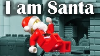 I am Santa Claus- V2 - a Christmas Lego Brick Film