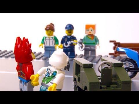 Lego Minecraft. Приключения Алекса - анимационный мультфильм. Stop Motion анимация