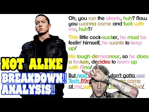 Eminem - Not Alike: Lyrics/Rhymes BREAKDOWN! ANALYSIS! and REACTION