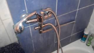Как заменить смеситель в ванной?
