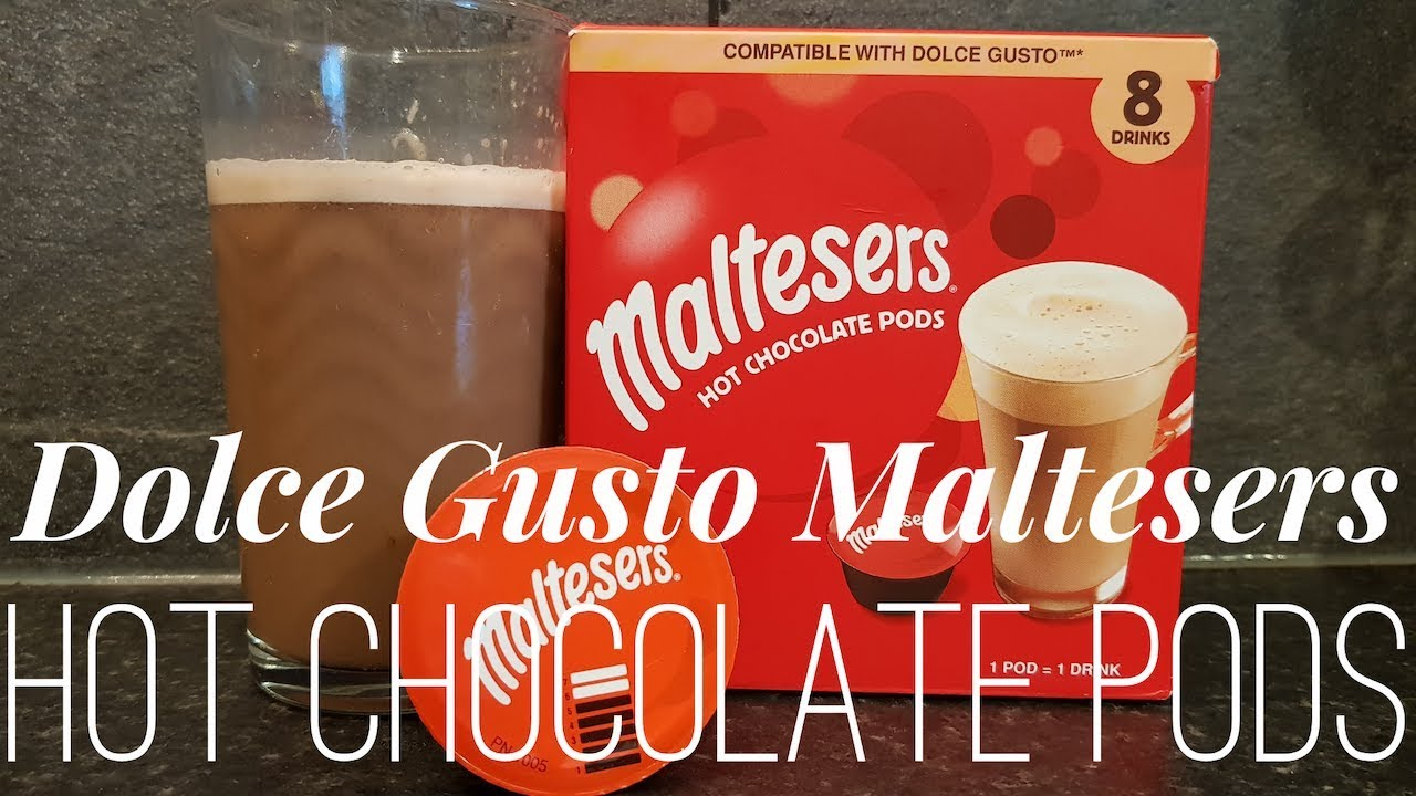Dolce Gusto Maltesers Hot Chocolate Pods How To Review