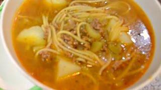 Sopa A La Minuta | Cocina Típica Peruana