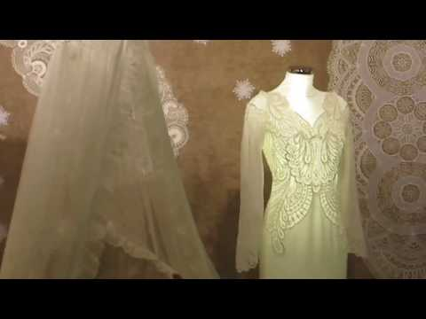 """Russian embroidery and lace! Lace Of Russia! Lace Russian artists at the exhibition """"Boat"""" in Moscow"""