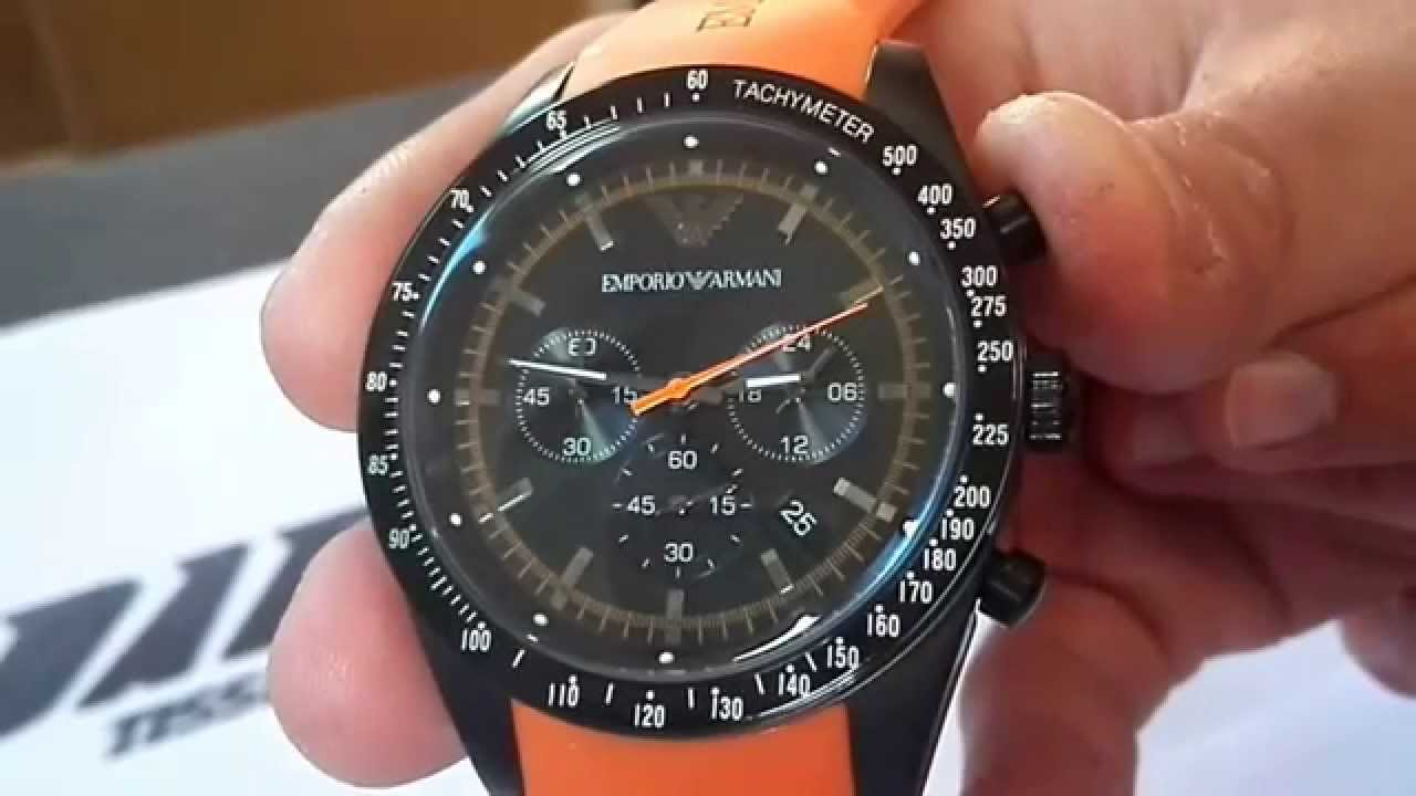 another chance sale online best cheap Emporio Armani AR5987 - YouTube