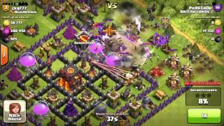 Clash of Clans gute Verteidigung Rathaus Level 10