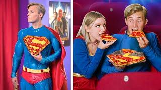 영화관에 몰래 들어가는 슈퍼히어로의 17가지 방법들