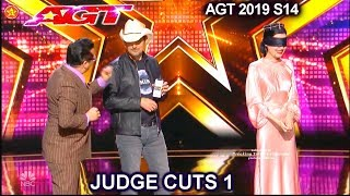 The Sentimentalists with Brad Paisley & Colored Marbles | America's Got Talent 2019 Judge Cuts
