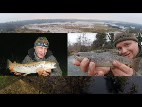 Fishing The Hampshire Avon - Trotting On River Itchen (Video 155)