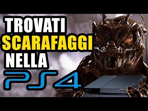 OCCHIO ALLA PLAYSTATION E GLI SCARAFAGGI!