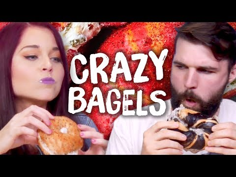 5 LIFE-CHANGING Bagel Mashups! (Cheat Day)