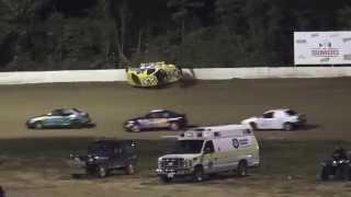 Florence Speedway | T.J. Dalton Flip