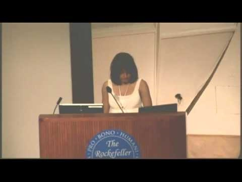 Lecture 8 Nekita Singh - The Study of Primates and Evolution Through the Use of Bioinformatics