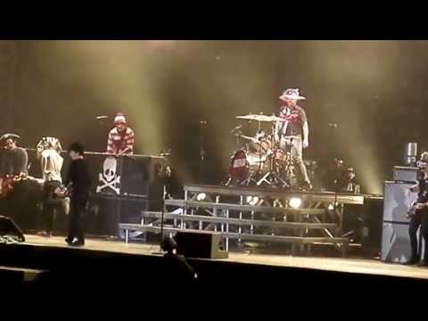 Green Day live King For A Day/Shout/Satisfaction/Teenage Kicks @ Emirates 01-06-13