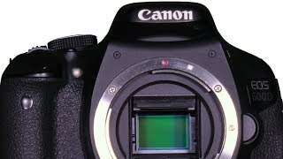 Sensor Cleaning Canon EOS DSLR DIY