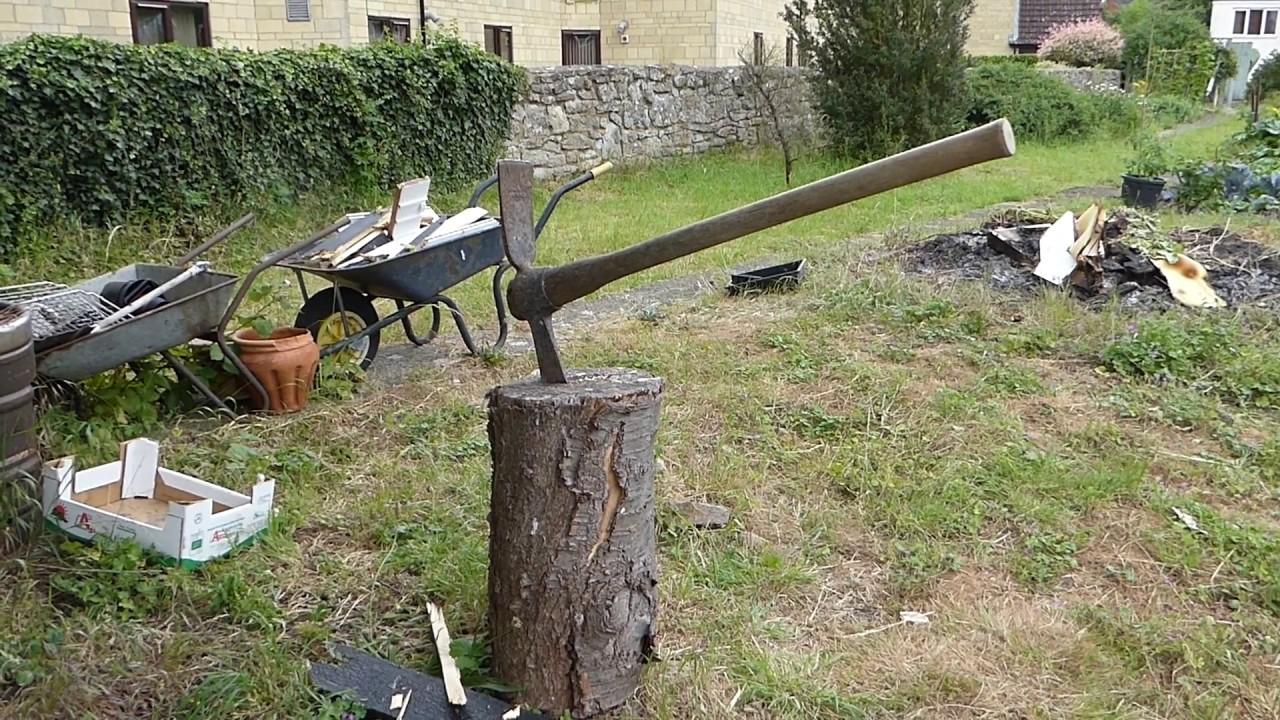 cutter mattock crub axe youtube