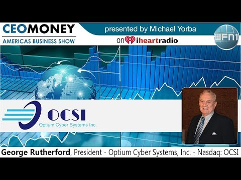 George Rutherford from Optium Cyber Systems on CEO Money