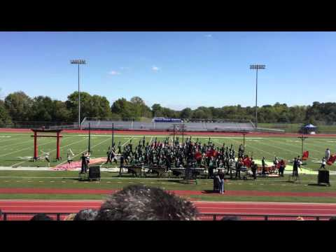 Blue Valley Southwest High School - Emerald Regiment Marching Band