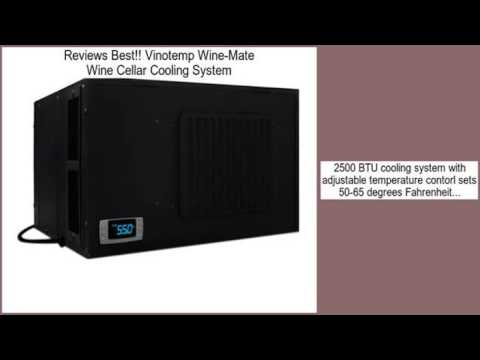 vinotemp winemate wine cellar cooling system review - Vinotemp