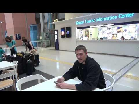 Japan Study Abroad - Day 01 - Looking around Kansai International Airport