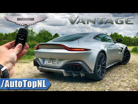 ASTON MARTIN VANTAGE Review POV Test Drive on AUTOBAHN & ROAD by AutoTopNL