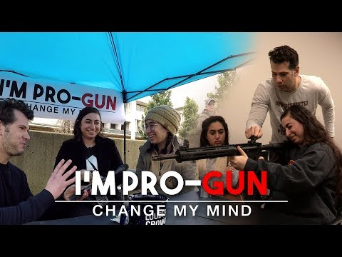 REAL CONVERSATIONS: First Time Gun Buyer! | Change My Mind