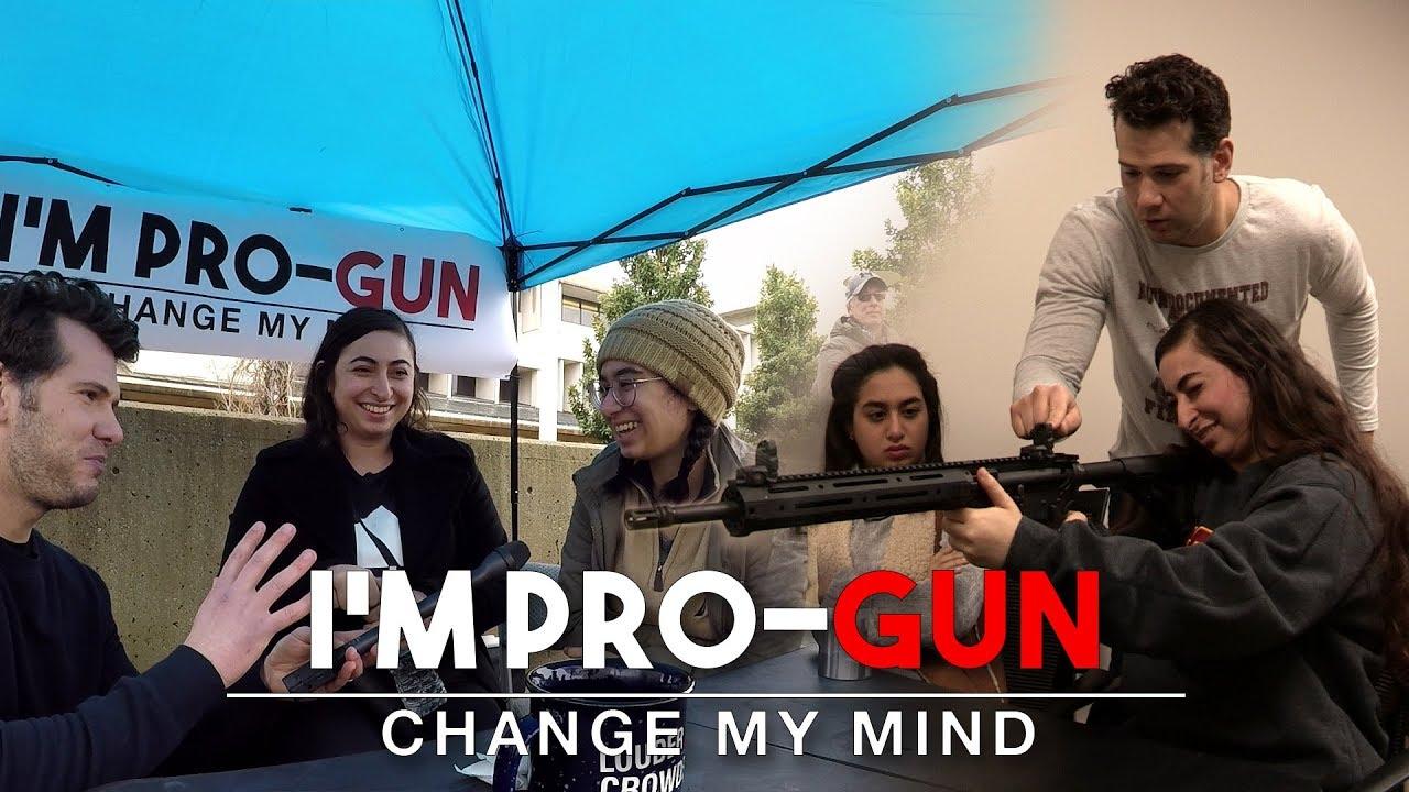 First Time Gun Buyer! | Change My Mind