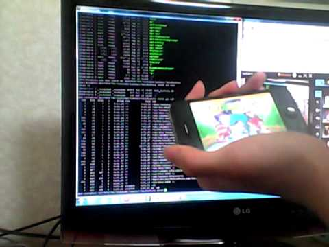 Iphone4 SSH Hacking