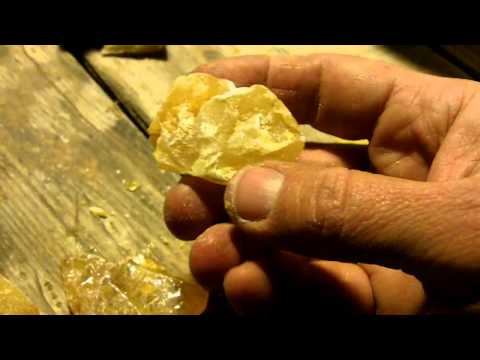 181 - How To Make Pine Pitch Glue AKA Cutler's Resin