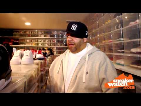 Mayor Walks Us Through His Sneaker Room (SneakerWatch)