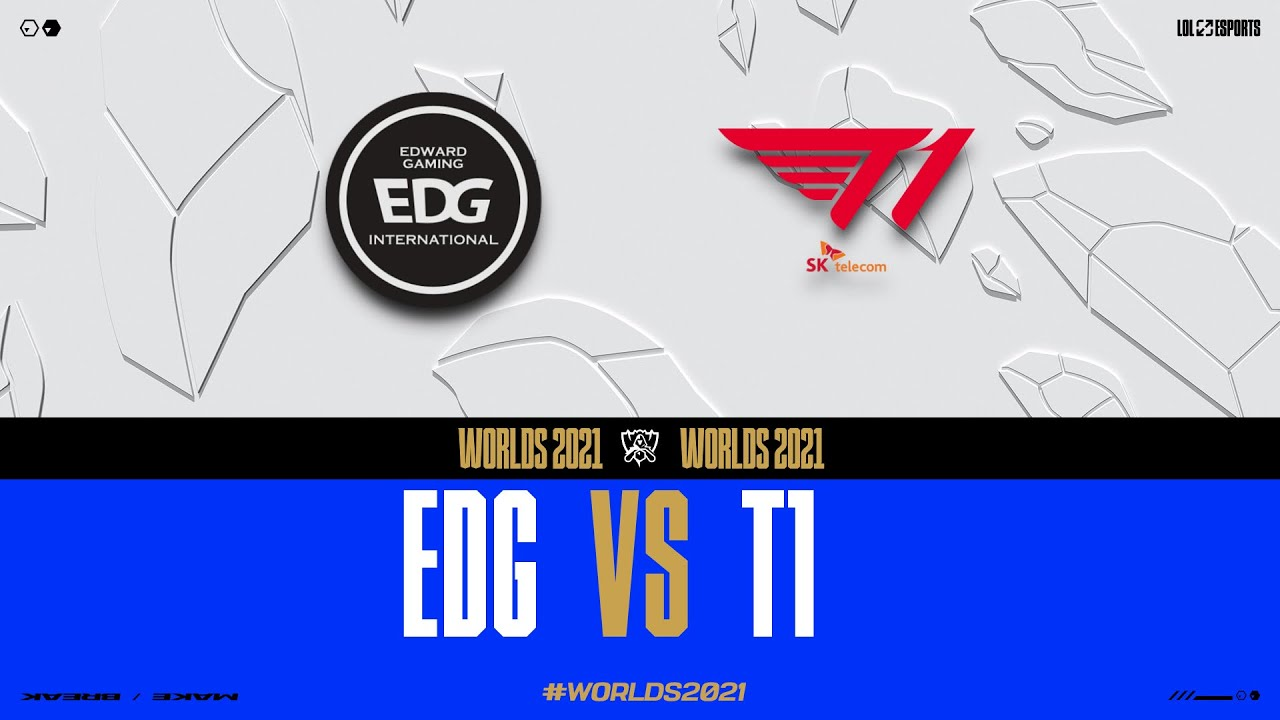 Download WORLDS 2021 - GROUPSTAGE DAY 5 - EDG vs T1