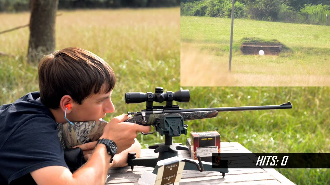 Keystone Arms 10/22 & Crickett Shooting 400 Meters  22 LR!