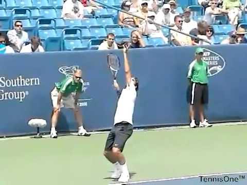 Quay chậm federer phát bóng | TennisHouse.vn