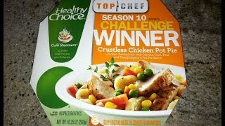 Healthy Choice Top Chef Crustless Chicken Pot Pie Review