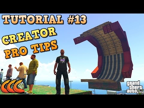 GTA 5 Tutorial #13 PRO TIPS ( GTA V Content Creator How to build ...)