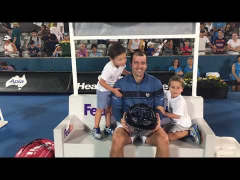 Gilles Muller Shares Sydney 2017 Title With Sons