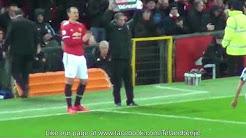[Cực xúc động] Fancam - Khoảnh khắc Ibrahimovic trở lại cùng Manchester United
