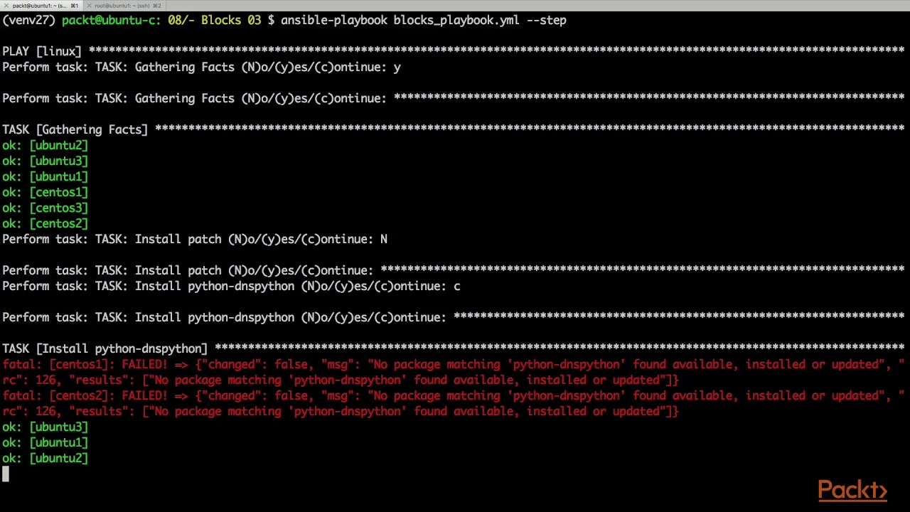 Mastering Ansible: Troubleshooting Ansible| packtpub com