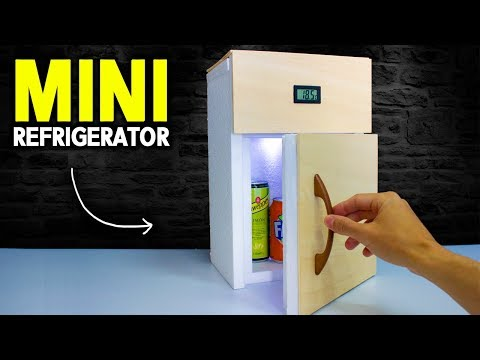 How to Make a MINI Refrigerator At Home | DIY