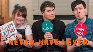 Never Have I Ever with Dan & Phil! | Pinatas, Caviar & Plotted Plants.