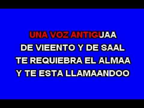 ALFONSINA Y EL MAR  karaoke