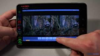 видео Обзор планшетного компьютера TeXet TM-7021