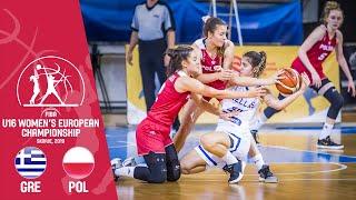 Greece v Poland - Full Game - FIBA U16 Women's European Championship 2019