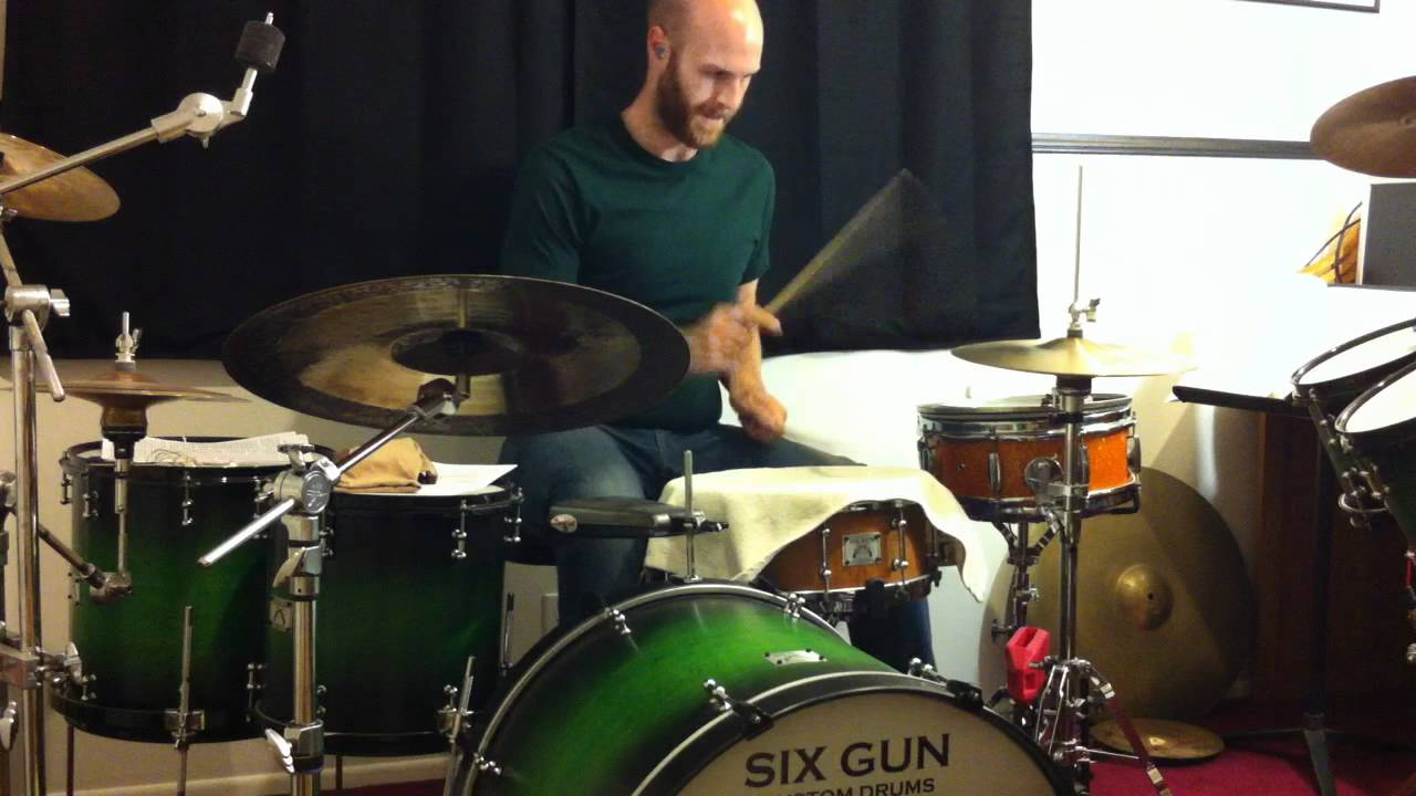 playing with drums towel on snare lesson youtube. Black Bedroom Furniture Sets. Home Design Ideas