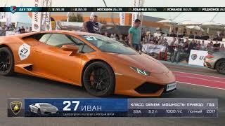 1/8 Unlim 2018. 1000hp Lamborghini Huracan vs 900hp Porsche 911 turbo s. Unlim highlights.