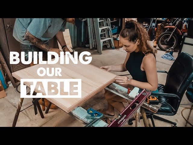 HOW TO BUILD THE PERFECT VAN TABLE | Ep 8 Sprinter Van Conversion