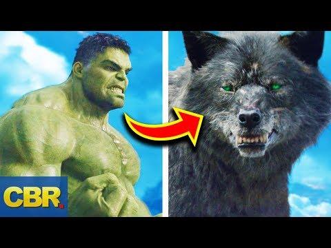 15 Marvel Characters Bigger Than Hulk But Way Weaker Than Him