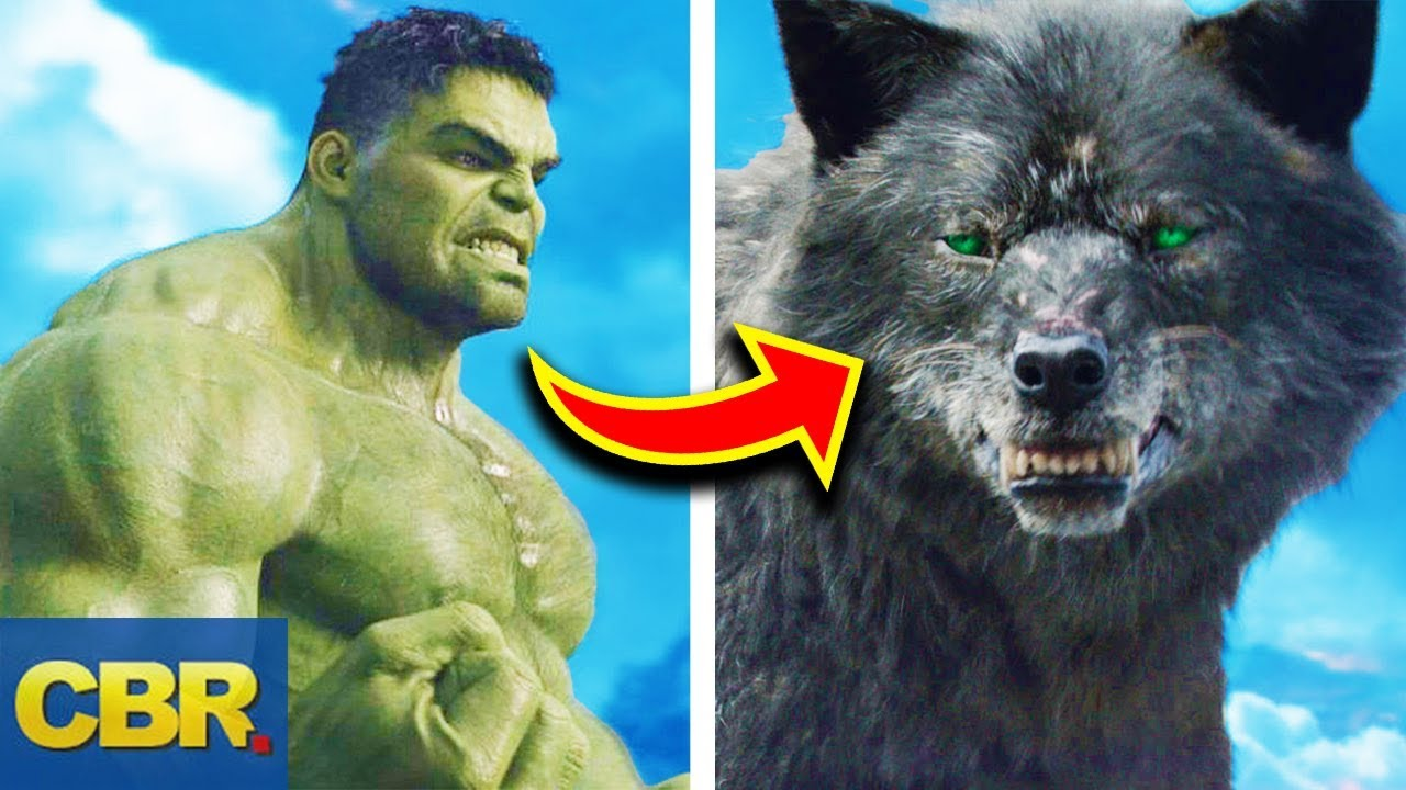 15 Marvel Characters Bigger Than Hulk But Way Weaker Than Him - YouTube