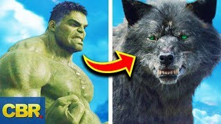 15 Marvel Characters Bigger Than Hulk But Way Weaker Than Him