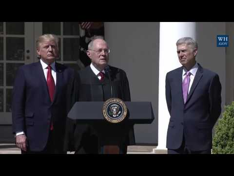 AMAZING: Justice Anthony Kennedy Speech