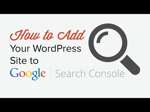 How to add wordpress to google